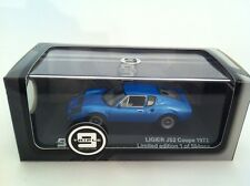 Ligier JS2 Coupe Year 1972 blue metallic 1:43 Triple9/premium X New