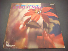 Music City Singers, Favorite Songs of Christmas, Halo Records,Album,LP,Vinyl