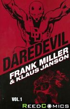 DAREDEVIL BY MILLER AND JANSON VOLUME 1 GRAPHIC NOVEL New Paperback *336 Pages*