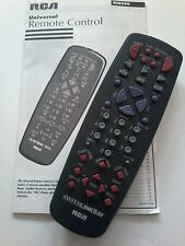 RCA Universal System Link 5AV Television Remote Control With Manual