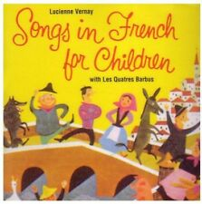 Songs In French For Children - Vernay/Les Quatre Barbus (2001, CD NIEUW)