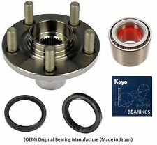 Front Wheel Hub & KOYO (OEM) Bearing & Seals Kit For 2000-07 SUBARU IMPREZA