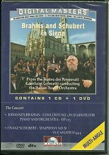 Brahms and Schubert in Siena CD + DVD. Edizione Inglese