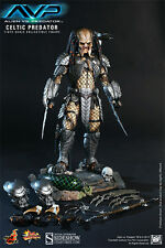 Hot Toys MMS Alien Vs Predator Celtic predator 2.0 1/6 Figure UK Seller