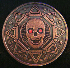 ZOMBIFIED PIRATE BOOTY - Copper 1oz Antiqued Skull and Compass Medals