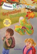 Calendar Mysteries #9: September Sneakers (A Stepping Stone Book(TM))-ExLibrary