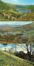 Cumbria ,Lake district  x3 Rydal waterand doras field, unposted 1960's 70's