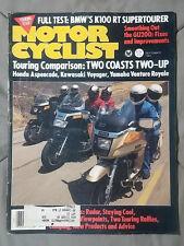 1984 SEPTEMBER MOTOR CYCLIST MAGAZINE CRUISER BMW KAWASAKI SUZUKI HONDA YAMAHA