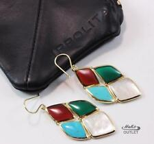 IPPOLITA RIVIERA SKY 4-STONE 18K YELLOW GOLD DROP CASCADE DROP EARRINGS