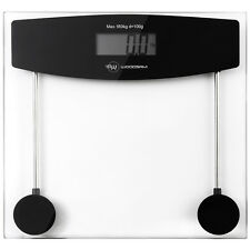 Digital LCD Bathroom Body Glass Weight Scale Heath Fitness 400LB