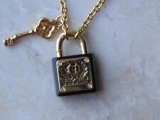 "~Brighton Necklace..""Pretty Witty & Wise"" My Flat in London Lock & Key NWT!~"