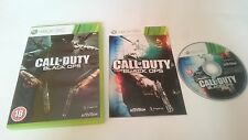 JUEGO COMPLETO CALL OF DUTY BLACK OPS PAL MICROSOFT XBOX 360 UK Inglés.