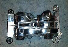 Tamiya Silver Metallic 1/32 Mini 4WD w/aluminum upgrades Hard to find...