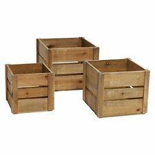 NEW Rogue Planter Square Crate (Set of 3)