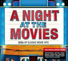 VARIOUS ARTISTS - A NIGHT AT THE MOVIES:  3CD ALBUM SET (February 17th 2014)