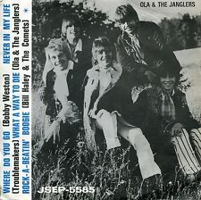 "OLA & THE JANGLERS 7"" What A Way To Die (Sweden EP Jukebox 1969) + Troublemaker1"