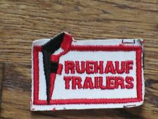 fruehauf  trailers   patch, new old stock, 60's