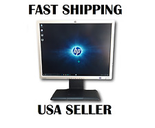 """HP LP2065 20"""" LCD Computer Monitor w/ Power cord and VGA Cable Swivel Stand"""