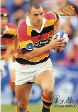 Roger Randle, Waikato,  RUGBY PLAYER POSTCARD