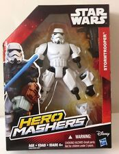 "STAR WARS STORM TROOPER 6"" ACTION FIGURE DOLL HERO MASHERS HASBRO"