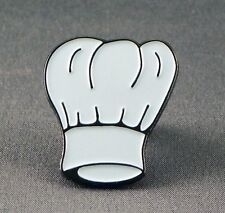 Metal Enamel Pin Badge Brooch Chef Hat Cook Kitchen