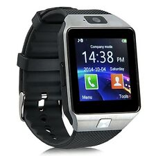 DZ09 Bluetooth Smart Wrist Watch Phone Camera SIM TF GSM For Android IOS Silver