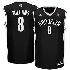 Deron Williams 8 Jersey Brooklyn Nets NBA adidas Basketball SIZE L