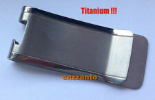 Ti Titanium money clip Credit card clip holder with Bottle Opener Z020