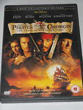 Pirates of the Caribbean - The Curse of the Black Pearl DVD/Family/Johnny Depp