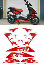 Aprilia SR 50 R factory 2007 Stickers Graphics Kit Sized to Fit