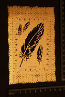 Pricking * Stencil * Emboss * Feather * Plume * Embroider * Pierce