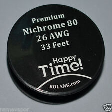 Free Shipping 26 Gauge 0.4mm Nichrome 80 Resistance Wire Ni80 Wire 26 AWG