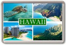 FRIDGE MAGNET - HAWAII - Large - USA America TOURIST