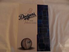 2001 Los Angeles Dodgers Media Guide! BRAND NEW! NEVER OPENED! ONLY NEW ONE eBAY