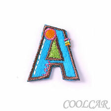 DIY Embroidered Motif Cloth Applique Iron On Patch Sew Clothing Decorations #A