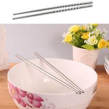 Essstäbchen Edelstahl Stäbchen rostrfrei Spülmaschinen geeignet Chopsticks Asia