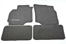 2005-2006 GENUINE MITSUBISHI LANCER CARPET FLOOR MATS BLACK ALN02XFB01 MZ312876