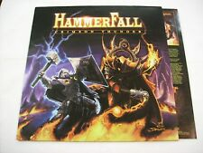 HAMMERFALL - CRIMSON THUNDER - LP BRAND NEW VINYL 2002 WITH INSERT
