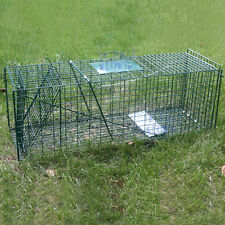 Extra Large Humane Live Animal Trap Possum Fox Rat Cat Rabbit Hare Catcher Cage