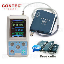 CONTEC Ambulatory Blood Pressure Monitor, USB Software, 24h NIBP Holter ABPM50