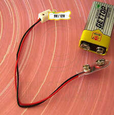 Single Receptacle Lamp Power Plug Supply 9V 12V Doll's House Dollhouse Miniature