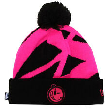 NEW Authentic New Era YUMS Knitted Abstract Black/Pink 25P