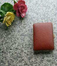 Vintage Small Red Cigarette Case