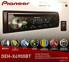 Pioneer DEH-X4900BT CD RDS Receiver AUX/USB/BT