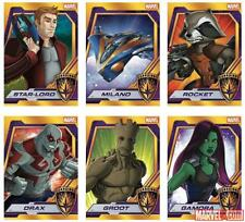 MARVEL DISNEY XD GUARDIANS OF THE GALAXY SDCC EXCLUSIVE PROMO CARD SET OF 6