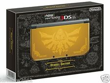 "Nintendo ""new"" 3DS LL XL Console Hyrule Edition Japan Model NIB"