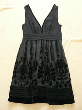NEW Black mini dress by H&M Conscious Collection. Size 6/8.