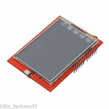 "2.4"" TFT LCD Shield Touch Panel Module TF Micro SD For Arduino UNO R3"