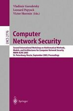 Computer Network Security: Second International Workshop on Mathematical Methods