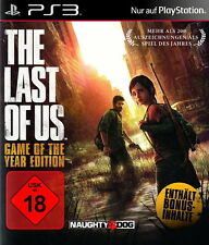 PS3 THE LAST OF US *WELTUNTERGANGS ACTION - IM FILM STIL* KOMPLETT IN DEUTSCH